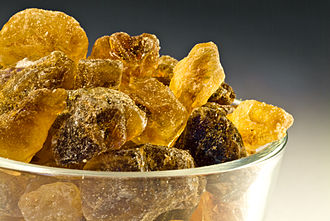 Rock candy - Traditional brown rock sugar