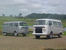 62525df2e7f0b4 An air-cooled and a water-cooled VW Kombi (T2)