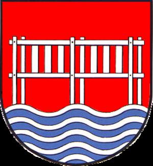 Bredstedt - Image: Bredstedt Gemeinde Wappen