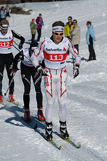 Brent McMurtry, 2011 Swiss cross-country skiing championships - Duathlon.jpg