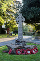 Brent Pelham war memorial Hertfordshire England.jpg