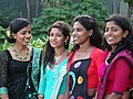 Bridesmaids at Wedding - Medaketiya Beach - Tangalla - Sri Lanka (13902863177).jpg