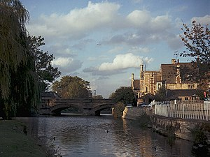 South Kesteven - Welland bridge in Stamford