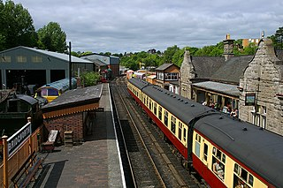 Bridgnorth railway station Station in Shropshire, England