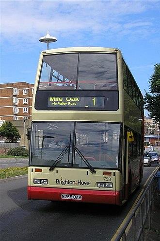 East Lancs Cityzen - Image: Brighton & Hove East Lancs Cityzen 758