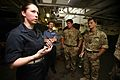 British service members tour USS Makin Island 141011-M-ET630-160.jpg