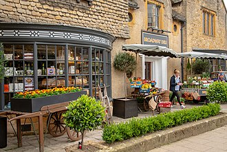 Broadway, Worcestershire - One of the businesses on the High Street