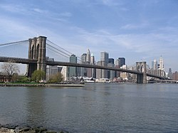 Brooklyn Bridge depuis Fulton Landing Park.JPG