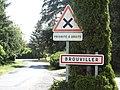 Brouviller (Moselle) entrée.jpg