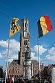 Bruges - beffroi et drapeaux.jpg