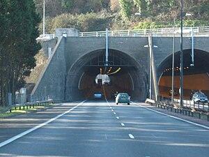 Brynglas - The eastern portal.