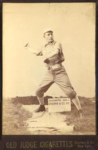 Nashville Americans - Center fielder Tod Brynan (1885)