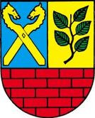 Das Wappen von Buchholz in der Nordheide
