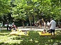 Bucuresti, Romania. PARCUL GRADINA ICOANEI. Loc de joaca pentru copii. (B-II-a-B-18301).jpg
