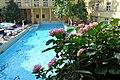 Budapest, Lukács fürdő, 26 ℃ fokos medence.jpg