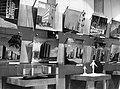 """Budapest V. Kossuth tér, Magyar Nemzeti Galéria, """"A felszabadult Budapest művészete"""" című kiállítás, új lakótelepek és tervek képei. 1961 - Fortepan 84620.jpg"""