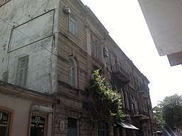 Building in Baku where secret meeting of bolsheviks were held in May 1919.jpg