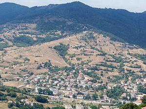 Ardino - Distant view of Ardino