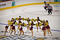 Bulldogs Cheerleaders and Referees — NCAA Frozen Four (5600073407).jpg