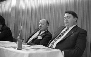 Herbert Ehrenberg - Herbert Ehrenberg (center) in 1973