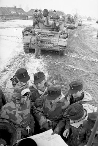 Zhitomir–Berdichev Offensive - A panzer group checks its position