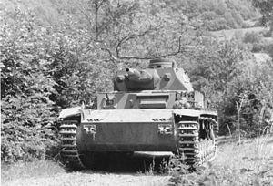 Siege of Calais (1940) - Image: Bundesarchiv Bild 146 1981 070 15, Frankreich, Panzer IV