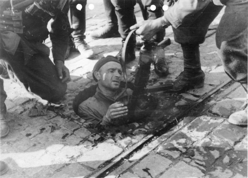 Bundesarchiv Bild 146-1994-054-30, Warschauer Aufstand, polnischer Soldat