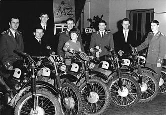 MZ Motorrad- und Zweiradwerk - MZ enduro team, 1968