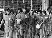 Bundesarchiv Bild 183-N0612-0025, Fußball-WM, Nationalmannschaft DDR, Training