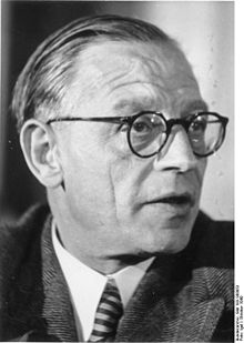 Georg Dertinger, le 12 octobre 1949.