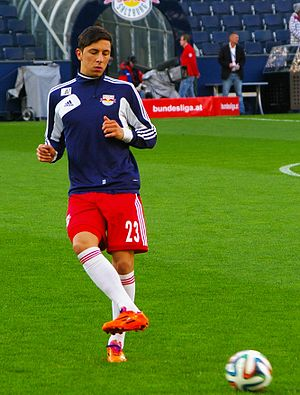 Robert Žulj - Image: Bundesliga FC Red Bull Salzburg gegen Admira Wacker Mödling 34