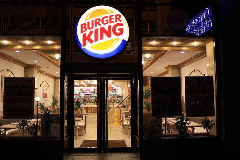 Burger King, Belfast, December 2009