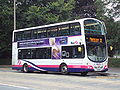 Bus on Prince's Avenue, Roundhay, Leeds - DSC07585.JPG