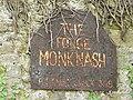 Business sign on the forge at Monknash - geograph.org.uk - 925579.jpg
