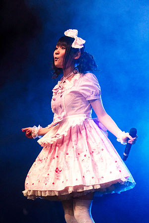 "Frock - The ""frock"" as dress, worn by a Japanese singer in 2010"