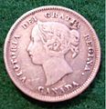 CANADA, QUEEN VICTORIA 1893 SILVER 5 CENT COIN a - Flickr - woody1778a.jpg