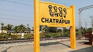 Chatrapur railway station Railway station in Odisha