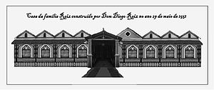 Diogo Rodrigues - Residential house of Diogo Rodrigues and descendants from 1551
