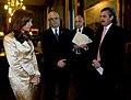 CFK con Taiana, Timerman y Alberto Fernández.jpg