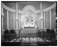 CHANCEL DETAIL - St. Michael's Episcopal Church, 80 Meeting Street, Charleston, Charleston County, SC HABS SC,10-CHAR,8-27.tif
