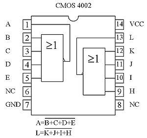 Circuit int gr 4002 wikip dia for Les circuit logique