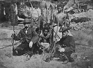 François Pollen - D.C. van Dam and François P.L. Pollen around 1865