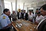 COMISIÓN DE DEFENSA DEL CONGRESO VISITÓ INSTALACIONES DEL CENTRO NACIONAL DE OPERACIONES DE IMÁGENES SATELITALES (25649653904).jpg