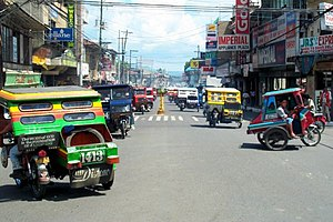 Motorized tricycle (Philippines) - Tricycles in Tagbilaran City, Bohol
