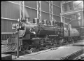 C class 2-6-2 steam locomotive, New Zealand Railways no 851, at Hutt Railway Workshops, Woburn ATLIB 290090.png