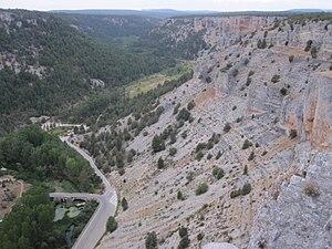 Cañón de Río Lobos - Vista desde los Miradores.JPG