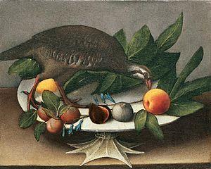 Orsola Maddalena Caccia - Image: Caccia ursula orsola magdelena a still life of figs plums and 1918273