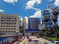Caine House and Citic Tower at Gloucester and Connaught Road fork, Hong Kong.jpg
