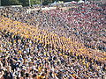 Cal student section at 2008 Big Game 1.JPG