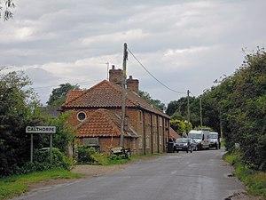 Calthorpe, Norfolk - Image: Calthorpe Norfolk 14 August 2014